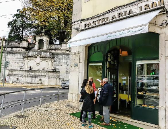 Португальская кофейня Pastelaria 1800.