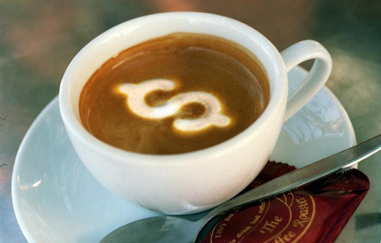 экономить на кофе